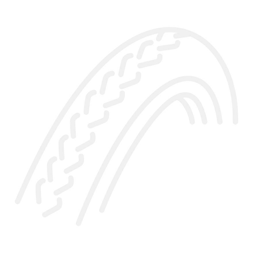 Deli Tire buitenband 28x1 1/2 TR-S604 reflectie creme, gemonteerd op Cortina Tour de Luxe