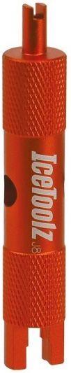 IceToolz binnenventielsleutel 66V1 voor Presta & Schrader ventielen