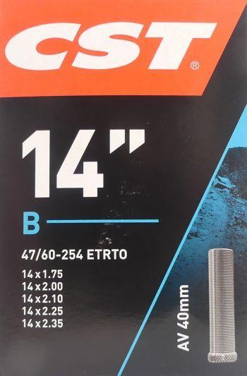 CST binnenband auto ventiel (AV40) 14 inch (47/60-254)