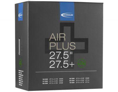 Schwalbe binnenband auto ventiel (AV21+AP) Air Plus 27.5 inch (54/70-584) - 40mm