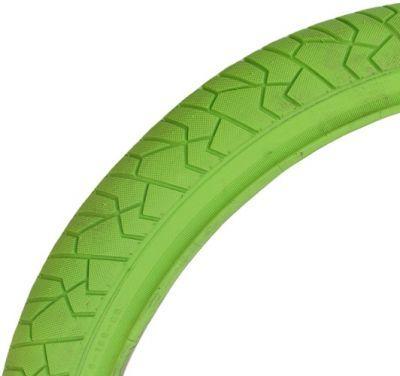 Deli Tire buitenband freestyle 20x1.95 (54-406) - groen met reflectie