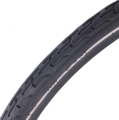 Deli Tire buitenband S-604 24 x 1 3/8 (37-540 - zwart met reflectie