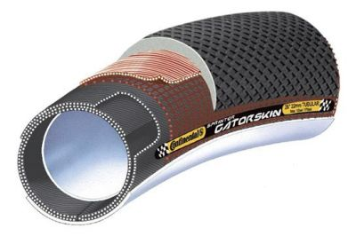 """Continental tube 28"""" x 22mm (28-622)700 x 28C Sprinter Gatorskin zwart"""