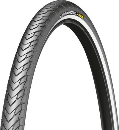 Michelin buitenband 28 x 1.3/8  (37-622) Protek Max reflectie zwart