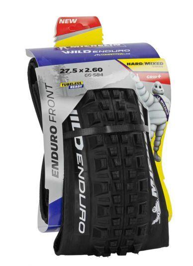 Michelin buitenband 27.5x2.60 (66-584) Wild Enduro voor GX TS TLR vouw zwart