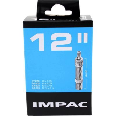 Impac binnenband 12 inch 12x2.1/4 - 12x1.75/2.10 (47/62-203) hollands ventiel 26 mm