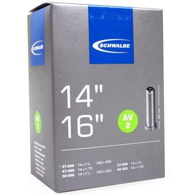 Schwalbe binnenband 14/16 inch 14x1.3/8 - 14x1.90 (37/47-288) auto ventiel (AV2) 40 mm