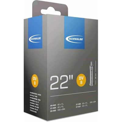 Schwalbe binnenband 22 inch 22x1.3/8-1.1/2 (28/37-489/501) hollands ventiel (DV8) 32 mm