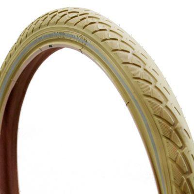 Deli Tire buitenband 20x1.75 (47-406) S-206 creme reflectie