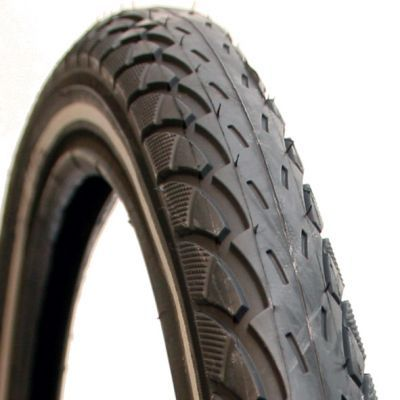 Deli Tire buitenband 24 x 1.75(47-507) reflectie zwart