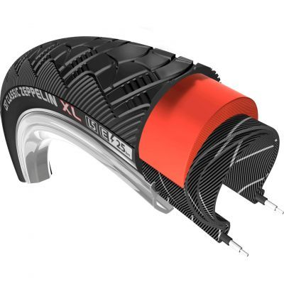 CST buitenband 28x2.00 (50-622) Zeppelin XL25 reflectie zwart