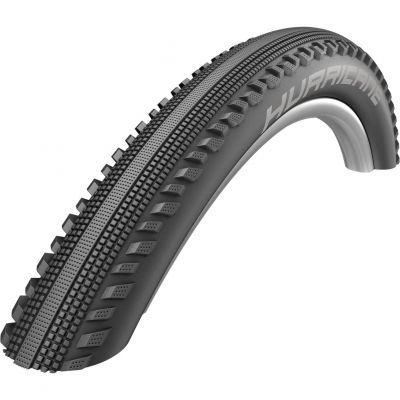 Schwalbe buitenband 28 x 1.60 (42-622) Hurricane RaceGuard reflectie zwart