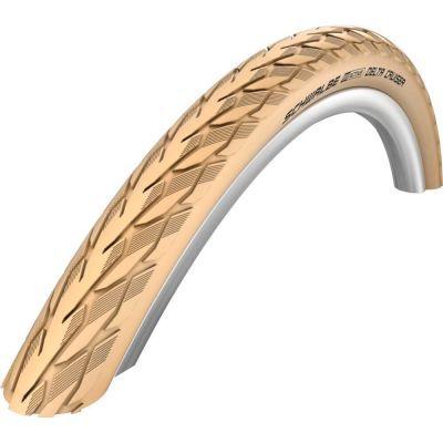 Schwalbe buitenband 26x1 3/8 (37-590) Delta Cruiser Plus Creme reflectie