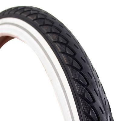 Deli Tire buitenband 20 x 1.75 (47-406) reflectie zwart/wit