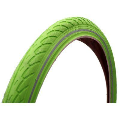 Deli Tire buitenband 22x1.75 (47-457) reflectie lime groen