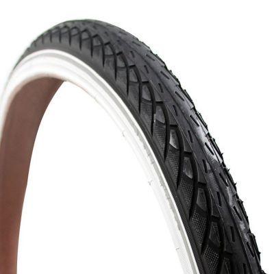 Deli Tire buitenband 24x1.75 (47-507) S-206 reflectie zwart/wit reflectie