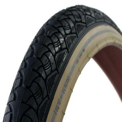 Deli Tire buitenband 26x2.125 (57-559) SA-238 reflectie zwart/creme