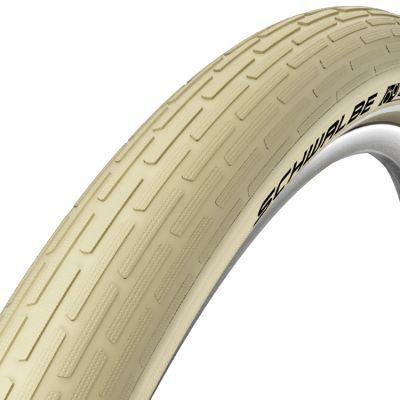 Schwalbe buitenband 26x2.35 (60-559) Fat Frank K-Guard reflectie creme