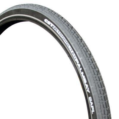 CST buitenband 28x2.00 (50-622) Palmbay APL reflectie grijs/zwart
