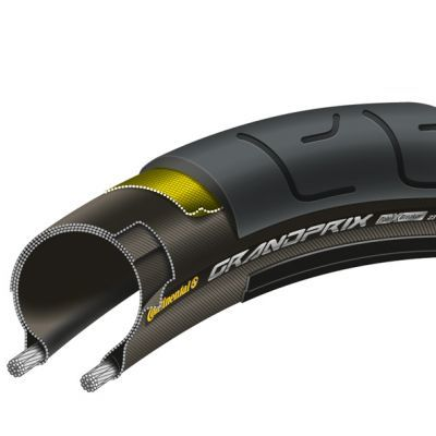 Continental buitenband 700x25/ 25-622 Grand Prix PolyXBreaker vouwbaar