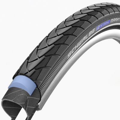 Schwalbe buitenband 26x1.50/40-559 Marathon plus SmartGuard Reflectie zwart