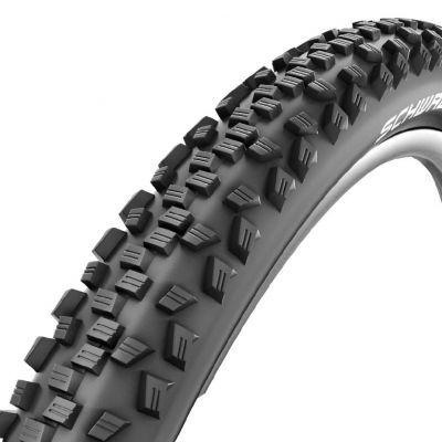 Schwalbe buitenband 26x1.75/1.90 (47-559) Black Jack K-Guard zwart zonder reflectie